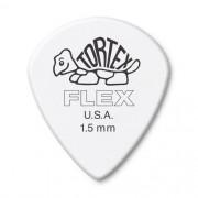 Kit Pacote 12pçs Palheta Dunlop Tortex Flex Jazz Iii 1,50mm