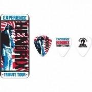 Kit 12pçs Palheta Dunlop Jimi Hendrix Tribute Tour Lata