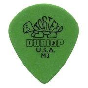 Palheta Dunlop Tortex Jazz M3 0.88mm Verde
