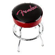 Banco Banqueta Barstool 24 Vermelho/preto Fender