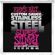 Encordoamento Guitarra Ernie Ball 011/48 Stainless Steel