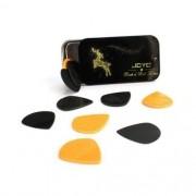 Kit 10pçs Palhetas Joyo Modelo Dunlop Xl Jazz 3,