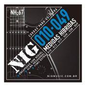 Encordoamento Guitarra 010/049 Nig Nh-67