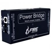 Fonte Fire Custom Shop Power Bridge 18v Preta P/ 12 Pedais