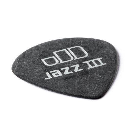 Kit Pacote 6pçs Palheta Dunlop Tortex Black Gold Jazz 0.88mm
