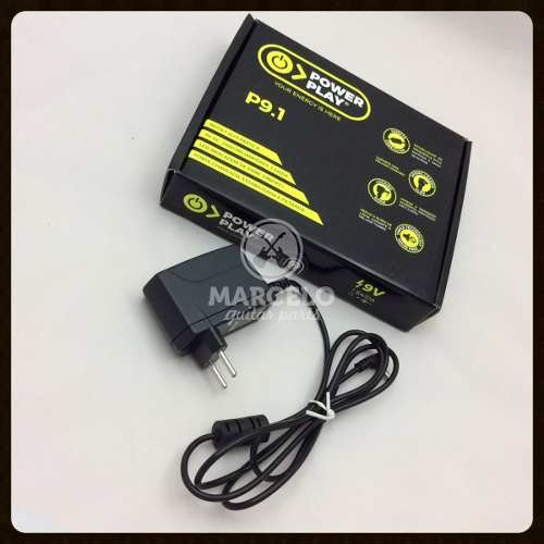 Fonte Power Play P9.1para 1 Pedal 9v Dc 2000ma
