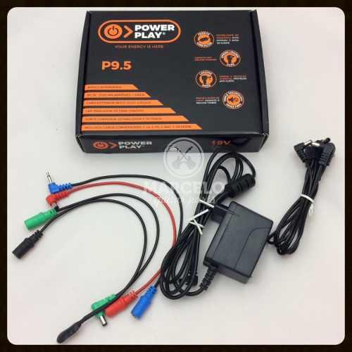 Fonte Power Play P9.5 Para 5 Pedais 9v Dc 2000ma