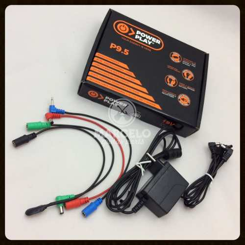 Fonte Power Play P9.5 Para 5 Pedais 9v Dc 2000ma