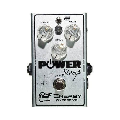 Pedal Power Stomp Energy Overdrive Signature Roger Franco