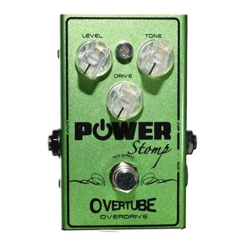 Pedal Power Stomp Overtube Overdrive + Brindes