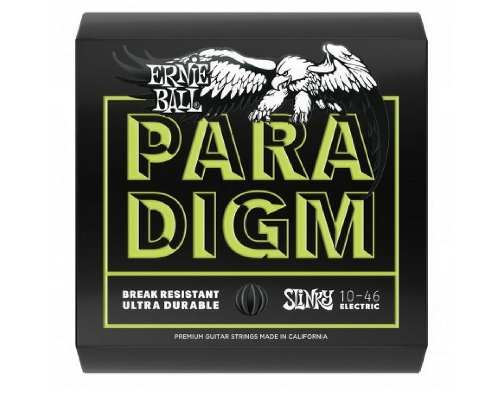 Kit 2sets Encordoamento Guitarra Ernie Ball Paradigm 010/046