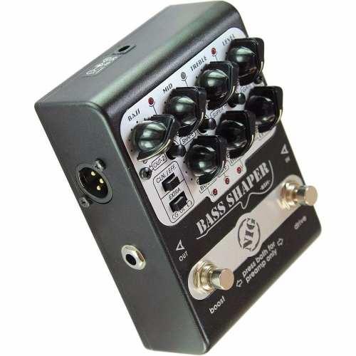 Pedal Nig Bsh Bass Shaper Preamp P/ Baixo