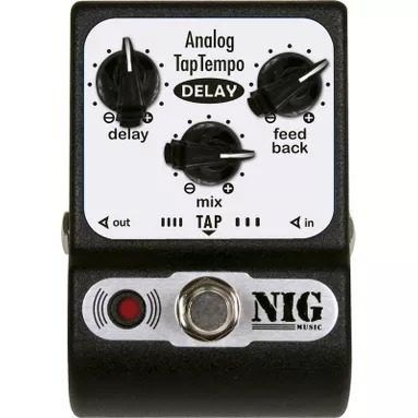 Pedal Nig Analog Tap Tempo Delay Padt