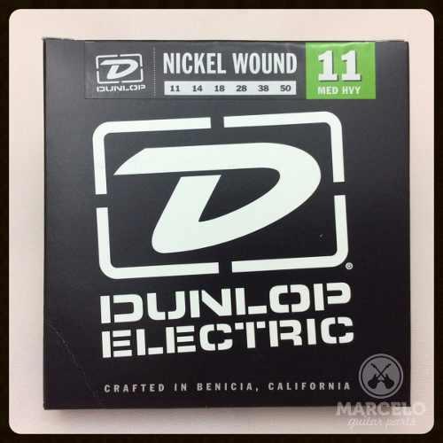 Encordoamento Guitarra 011/50 Dunlop,revenda Autorizada!