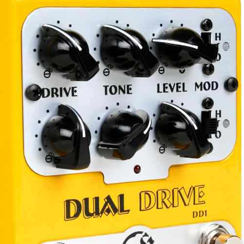 Pedal Guitarra Nig Dual Drive Dd1 Overdrive