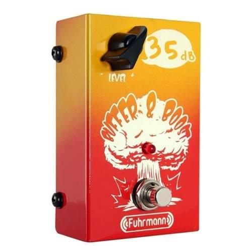 Pedal Fuhrmann Buffer & Boost True Bypass C/nf