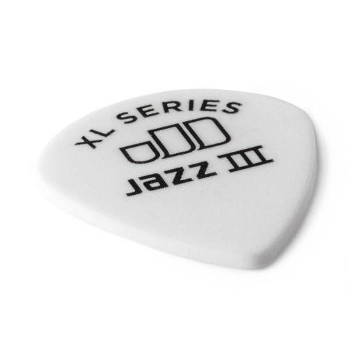 Kit 12pçs Palheta Dunlop Tortex Jazz 3 Xl 1.50m