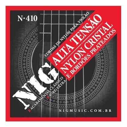 Kit 3sets Encordoamento Violão Nylon Nig Alta Tensão