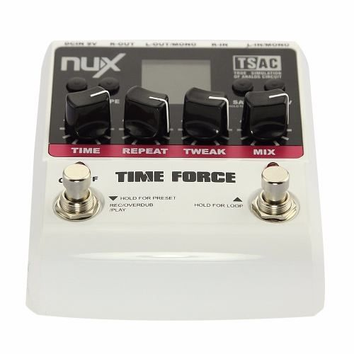 Pedal Multi Delay Digital Time Force - Nux
