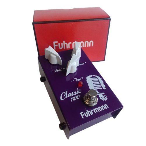Pedal De Efeitos Para Guitarra Fuhrmann Classic 800
