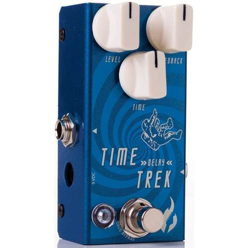 Pedal Fire Time Trek Delay Guitarra C/ Nota Fiscal+garantia