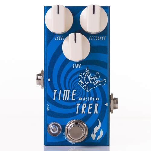 Pedal Fire Time Trek Delay Guitarra C/ Nota Fiscal+garantia