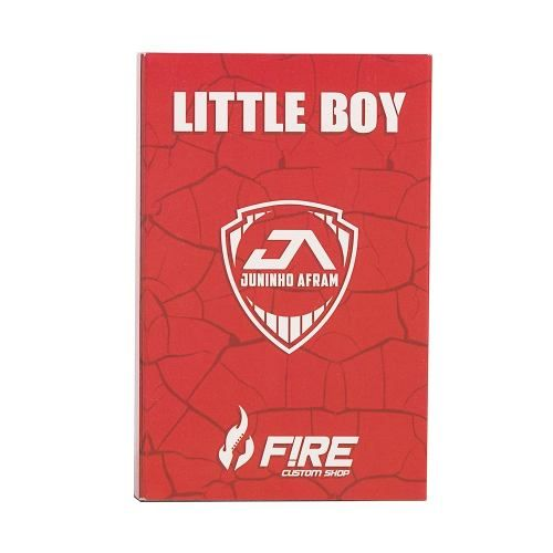 Pedal Drive Juninho Afram Signature Little Boy Fire