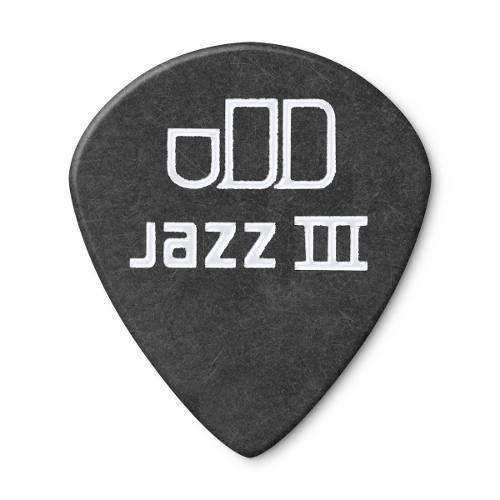 Palheta Dunlop Tortex Black Gold Jazz 1.0mm
