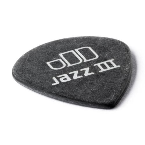 Kit Pacote 12pçs Palheta Dunlop Tortex Black Gold Jazz 1.0mm