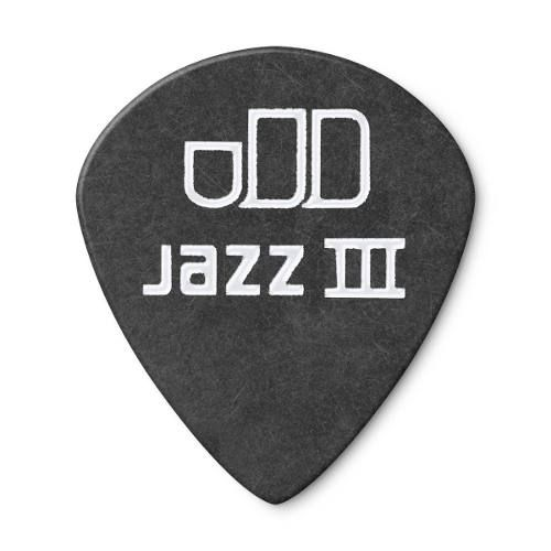 Palheta Dunlop Tortex Black Gold Jazz 0.73mm