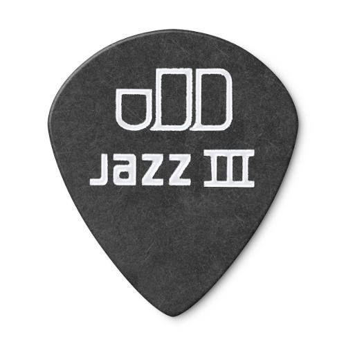 Kit Pacote 12pçs Palheta Dunlop Tortex Black Gold Jazz 0.60m