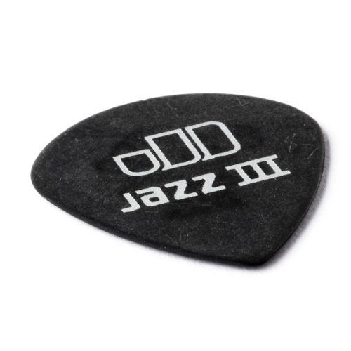 Palheta Dunlop Tortex Black Gold Jazz 0.50m