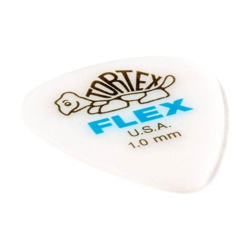 Kit Pacote 12pçs Palheta Dunlop Tortex Flex Jazz Iii 1,0mm