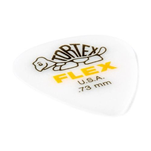 Palheta Dunlop Tortex Flex Jazz Iii 0,73mm
