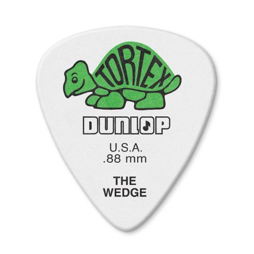 Kit 12pçs Palheta Dunlop Tortex Wedge 0.88mm