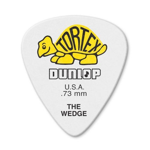 Kit 12pçs Palheta Dunlop Tortex Wedge 0.73mm