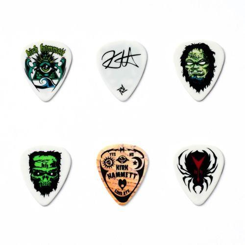 Palheta Dunlop Kirk Hammett - Lata Com 6 Palhetas
