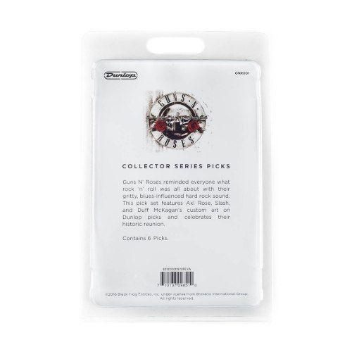 Kit 6pçs Palheta Dunlop Guns N Roses