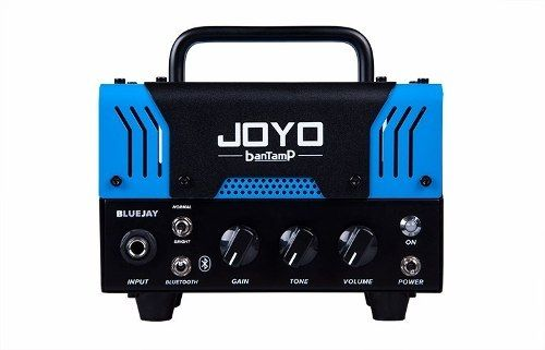 Mini Head Cabeçote Joyo 20 Watts Bantamp Bluejay P/ Guitarra