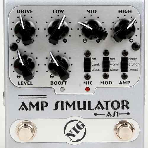 Pedal Nig Amp Simulator - As1