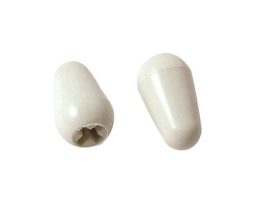 Ponta Da Chave Seletora Strato Knob Switch Tips Branco