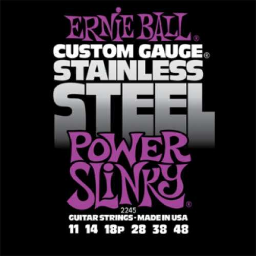 Kit 4sets Encordoamento Guitarra Ernie Ball 011/48 Stainless