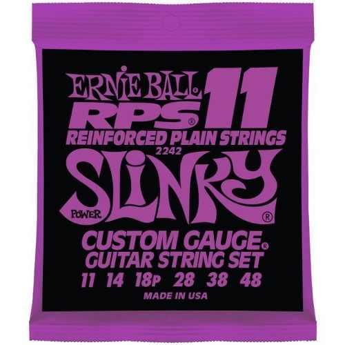 Kit 5sets Encordoamento Guitarra Ernie Ball 11/48 Slinky Rps 2242