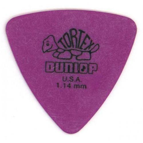 Palheta Dunlop Tortex Triangles Media / Medium - 1,14mm