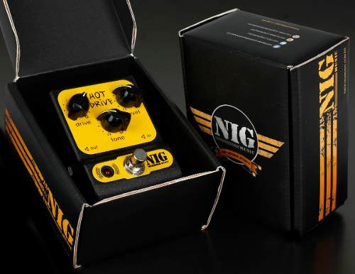 Pedal Nig Phd Pocket Hot Drive Overdrive
