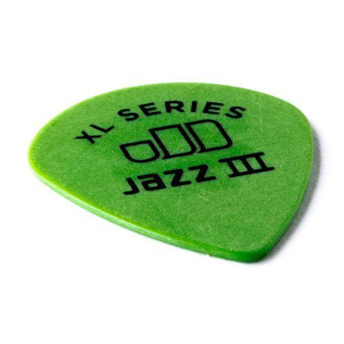 Kit Pacote 12pçs Palheta Dunlop Tortex Jazz 3 Xl 0.88mm