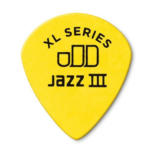 Kit Pacote 12pçs Palheta Dunlop Tortex Jazz 3 Xl 0.73mm