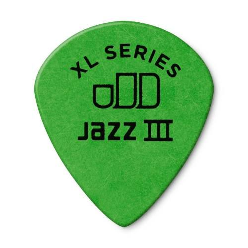 Kit 12pçs Palheta Dunlop Tortex Jazz 3 Xl 0.88m
