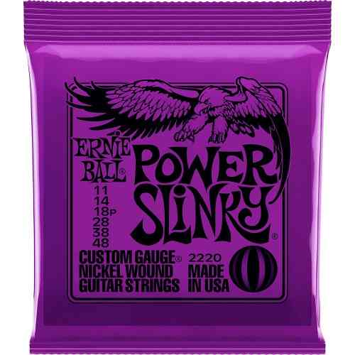 Encordoamento Guitarra Ernie Ball 011/048 Power Slinky 2220