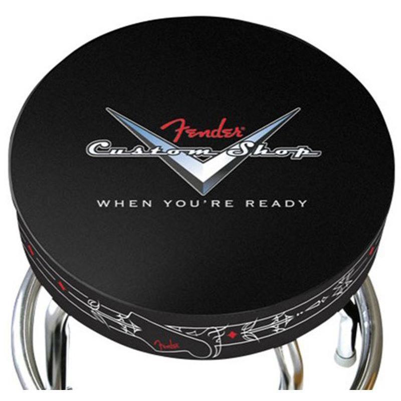 Banco Barstool Fender Pinstripe Custom Shop 30''